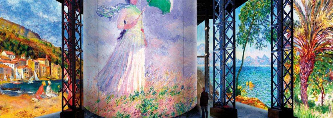 « Monet, Renoir… Chagall», the unmissable exhibition starting on February 28th, 2020 at l'Atelier des Lumières