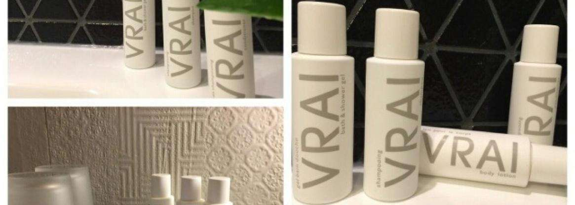 New bathroom amenities made for La Villa by Fragonard