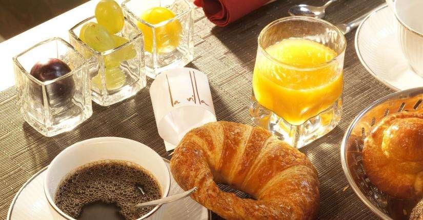 La Villa Saint Germain des Prés - Petit-déjeuner
